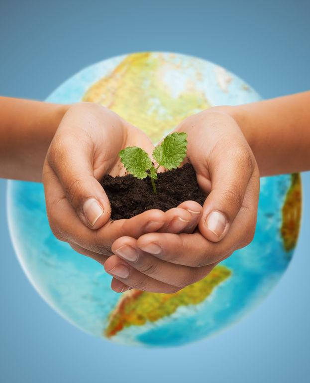 La Tierra Es única. Día Mundial Del Medio Ambiente.