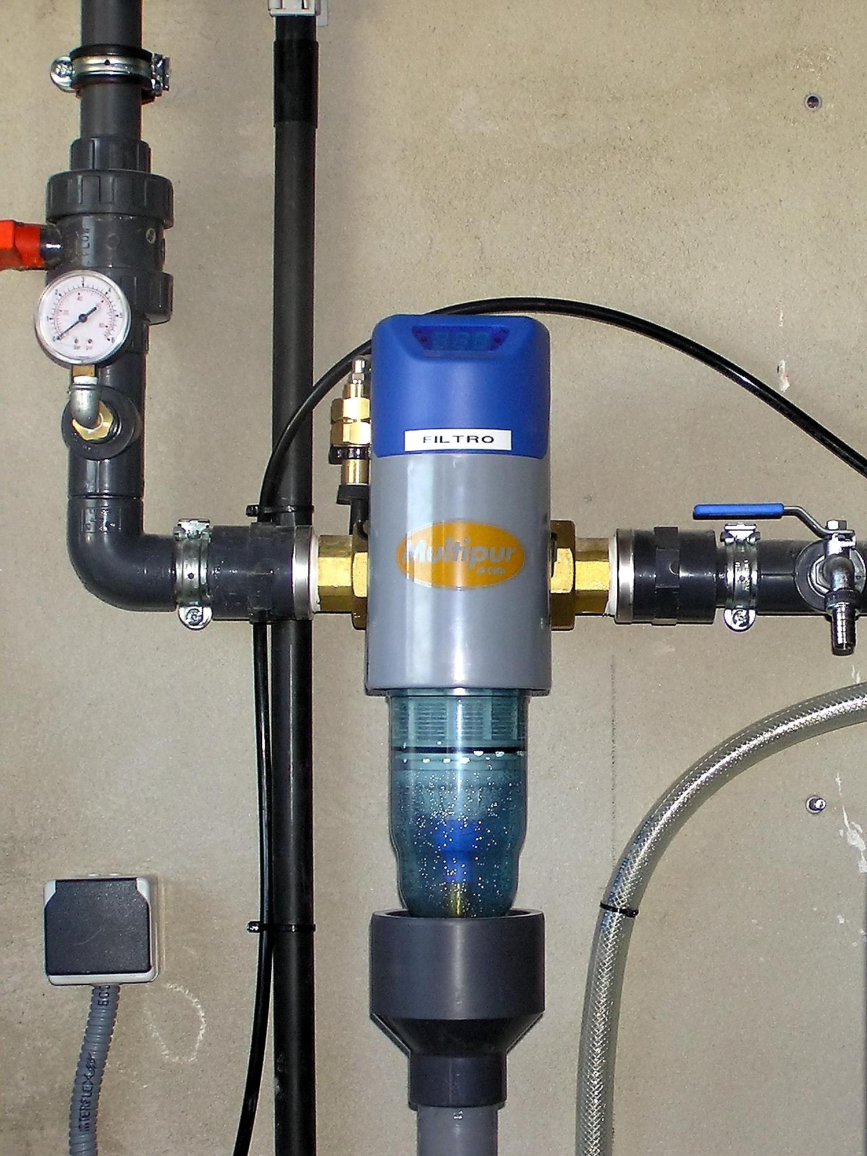 Filtración De Agua Sanitaria Y R.D.140/2003